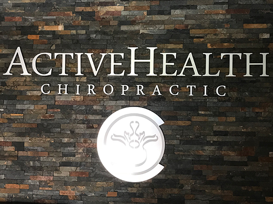 Chiropractic Fort Collins CO Active Health Chiropractic Inside Sign