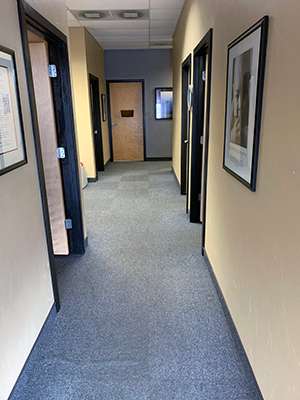 Chiropractic Fort Collins CO Active Health Chiropractic Long Hallway