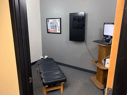Chiropractic Fort Collins CO Active Health Chiropractic Patient Adjustment Room