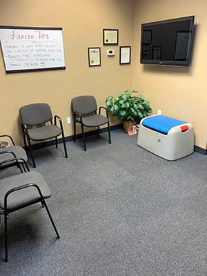 Chiropractic Fort Collins CO Active Health Chiropractic Playroom