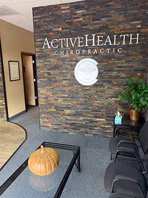 Chiropractic Fort Collins CO Active Health Chiropractic Waiting Room Brick Wall